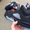"【リーク】Nike Air Jordan 5 Retro ""Black Metallic Silver""【発売】"