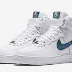 【2016春モデル】Nike Air Force 1 07 LV8  White Iridescent