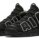 【国内】Nike Air More Uptempo Black/White & White/Varsity Red 【official画像】