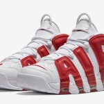 【キタコレ】Nike Air More Uptempo White Gym Red 【4月16日】