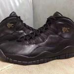"""【4月23日発売】Air Jordan 10 Retro """"NYC"""" ブラックゴールド"""