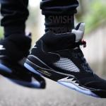 【朗報】Nike Air Jordan 5 Retro OG 黒銀【2016年7月22日発売】