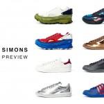 Raf Simons x adidas 2016ss 「Ozweego2」
