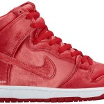 "【リーク】 Nike SB Dunk High ""Red Velvet"""