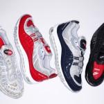 【4月30日発売】Supreme x Nike Air Max 98 4色 【速報中の速報やで】
