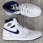 "【リーク】Nike Air Jordan 1 Retro High OG ""Metaric Navy"" 復刻キタ━━━(゚∀゚)━━━!!"