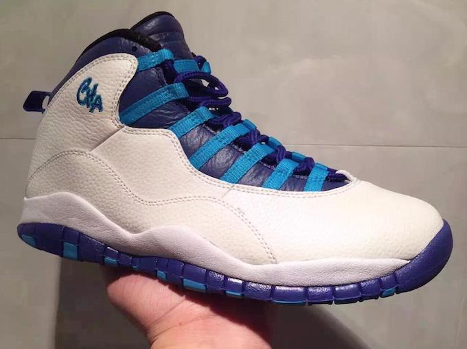 """リーク Nike Air Jordan 10 City Pack """"Charlotte Hornets""""  7b0b573877"""