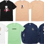 【4月23日発売】Supreme モハメド・アリ/アンディ・ウォーホール、ベティちゃん等のTシャツがリリース!!