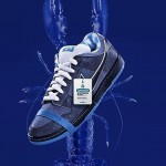 "【リーク画像】cncpts x Sneakernews × Nike SB Dunk Low ""Blue Lobster"""