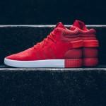 【リーク画像】adidas Tubular Invader Red / Vintage White
