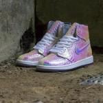 """【カスタム】Nike Air Jordan 1 """"Iridescent Features Adorn"""""""