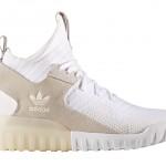 """【リーク】adidas Tubular X Primeknit """"White/Tan""""【アディダス チュブラー X】"""