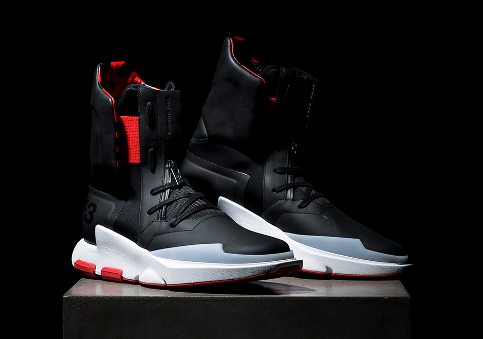 35761565ed7d0 ワイスリー adidas Y-3 Unveils 2017 Spring Summer Footwear Collection ...