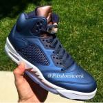 """【新画像リーク】Nike Air Jordan 5 Retro """"Olympic"""" Bronze【ジョーダン 5 ブロンズ】"""