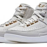"【リーク】Air Jordan 2 ""Quai 54"" 【off-white gold オフホワイト】"