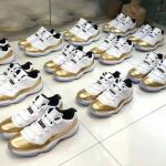 """【続報】Air Jordan 11 Low """"White/Gold"""" 【ジョーダン11アナザールック】"""