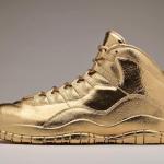 """【リーク】Air Jordan 10 OVO """"24K Gold"""" 【ドレイクさんwwwブリブリすぎwww】"""