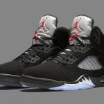 """【直リンクあり7月23日発売予定】Nike Air Jordan 5 Retro OG """"Black Metallic""""【黒銀 Nike ロゴ】"""