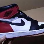 """【2016年モデル】Nike Air Jordan 1 Retro High OG """"Black Toe""""【ナイキ エアジョーダン1 つま黒】"""