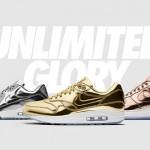 【リーク】NIKE iD Unlimited Glory Pack 【オリンピックメダル force1 max90 max1】
