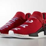 """【リーク】 Pharrell Williams x adidas NMD """"Human Race Red""""【ファレルウィリアムス x アディダス NMD 赤】"""