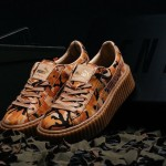 "【発売情報】Rihanna x PUMA Suede Creeper ""Orange Camo"" 【世界のディーバ】"