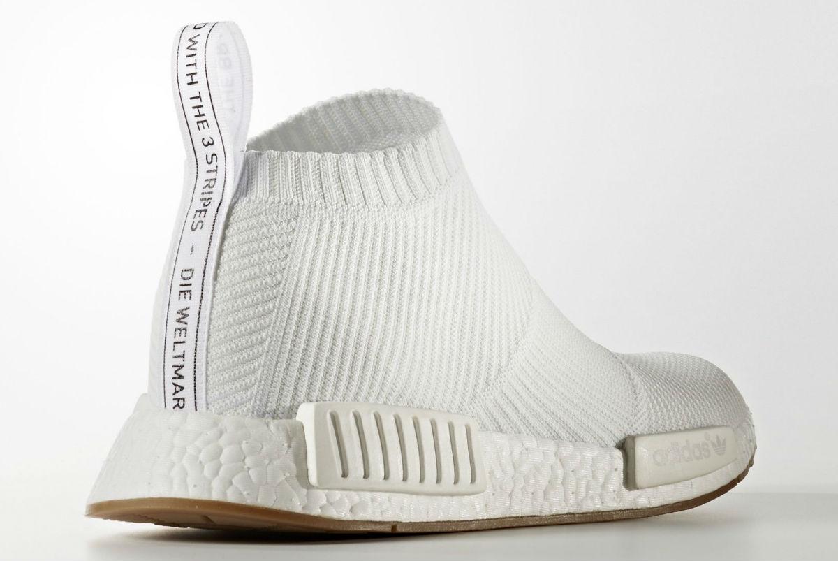 """リーク】adidas NMD City Sock """"White/Gum""""【アテ"""