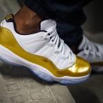 "【続報】Air Jordan 11 Low ""White/Gold"" 【8月27日発売予定】"