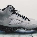 """【8月20日発売】Air Jordan 5 Retro """"Wolf Grey/Black-Black""""【エアジョーダン5 ウルフグレー】"""