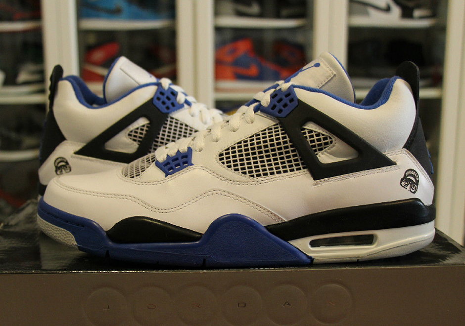 "Nike Air Jordan 4 ""Motorsports"" First Image"