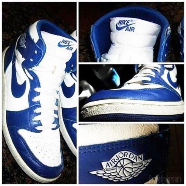 """【2016年12月23日発売】Nike Air Jordan 1 High OG """"Storm Blue""""【ナイキ エアジョーダン1 ストームブルー】"""