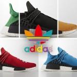 """【直リンクあり9月29日発売予定】Pharrell Williams x adidas NMD """"Human Race""""【ファレルウィリアムス x アディダス】"""