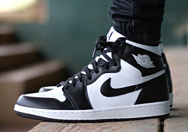 "Nike Air Jordan 1 Retro High OG ""Balck/White"""