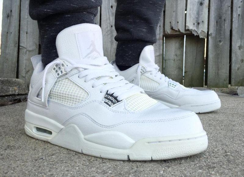 "Nike Air Jordan 4 Retro ""Pure Money"""