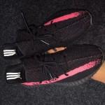 """【リーク】adidas Yeezy Boost 350 V2 """"Black/Pink"""""""