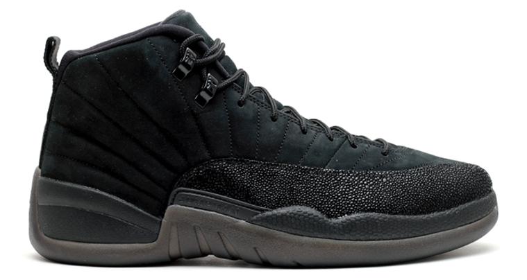 """Nike Air Jordan 12 x October's Vrey Own """"White/Gold"""""""