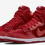 """【リーク】Nike SB Dunk High """"Red Velvet""""【ナイキ SB ダンク ハイ レッドヴェルヴェット】"""