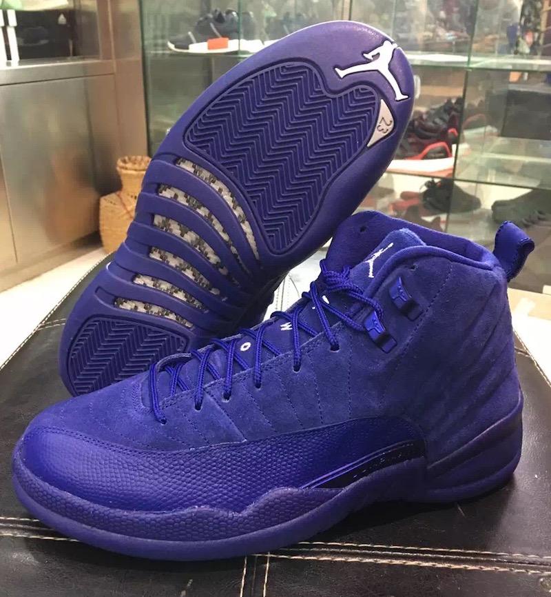 """続報】Air Jordan 12 """"Blue Suede"""" 【発売予"""