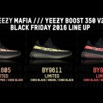 "【速報 11月25日発売 イージーブースト350 V2 3色】Yeezy Boost 350 V2 ""Core Black/Copper, Core Black/Green, Core Black/Red"""