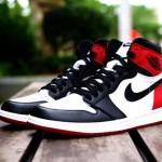 """【11月5日発売】Nike Air Jordan 1 Retro High OG """"Black Toe""""【ナイキ エアジョーダン1 ブラックトゥ】"""