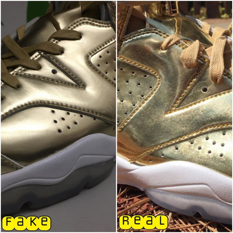 Air Jordan 6 Pinnacle Metallic Gold/White 854271-730. October 22, 2016