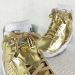 """【警告 Fake検証】Air Jordan 6 Retro Pinnacle """"Metallic Gold""""【エアジョーダン6 レトロ メタリックゴールド】"""