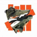 """【リーク1月20日発売予定】Air Jordan 8 """"Undefeated""""  【ジョーダン アンディフィーテッド】"""