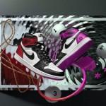 """【直リンクあり】Air Jordan 1 Retro High OG """"Black Toe""""【エアジョーダン1 レトロ ハイ つま黒】"""