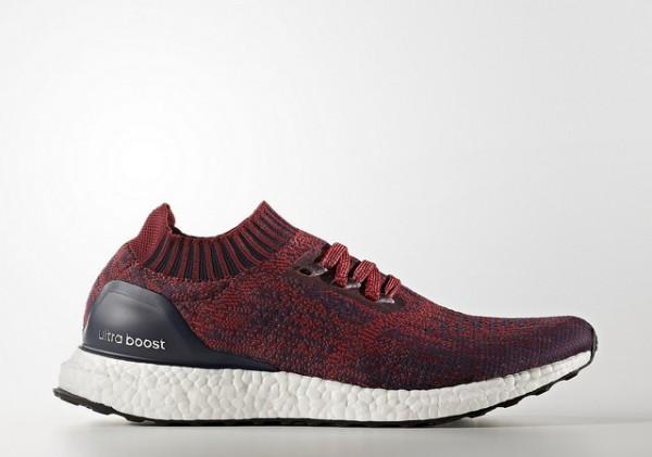 adidas Pure Boost 2.0 Burgundy Sneaker Bar Detroit