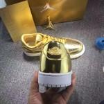 """【近日発売】Air Jordan 1 Low Pinnacle """"Metallic Gold""""【エアジョーダン1 ロー ピナクル メタリックゴールド】"""
