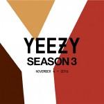 【イージーシーズン3発売中】YEEZY Season 3 のアイテムが海外で発売開始!!!!!