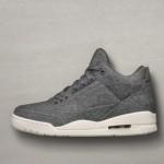 【12月17日発売予定】Nike Air Jordan 3 Retro Wool Dark Grey 【エアジョーダン3レトロウールダークグレー】