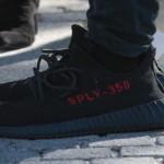 """【新画像】adidas Yeezy Boost 350 v2 """"Black Red""""【アディダス イージーブースト350 v2】"""