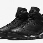 """【12月31日発売】Air Jordan 6 """"Black Cat""""【エアジョーダン6 黒猫】"""